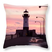 Duluth Sunrise Throw Pillow