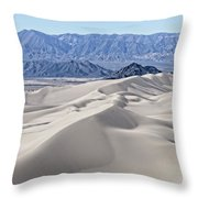Dumont Dunes 18 Throw Pillow by Jim Thompson