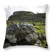 Dun Beag Broch Throw Pillow