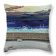 Dun Laoghaire 20 Throw Pillow