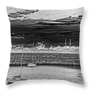 Dun Laoghaire 23 Throw Pillow