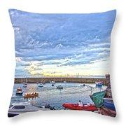 Dun Laoghaire 24 Throw Pillow