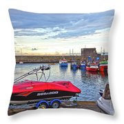 Dun Laoghaire 26 Throw Pillow