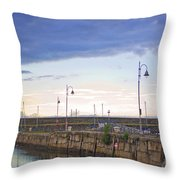 Dun Laoghaire 34 Throw Pillow