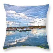 Dun Laoghaire 37 Throw Pillow