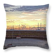 Dun Laoghaire 40 Throw Pillow