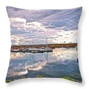 Dun Laoghaire 47 Throw Pillow