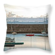 Dun Laoghaire 5 Throw Pillow