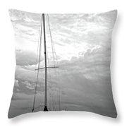 Dun Laoghaire 7 Throw Pillow