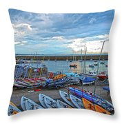 Dun Laoghaire 8 Throw Pillow