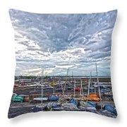 Dun Laoghaire 9 Throw Pillow