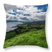 Dun Na Cuaiche Throw Pillow