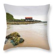 Dunaverty Bay Throw Pillow