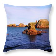 Dunbar Coast Throw Pillow
