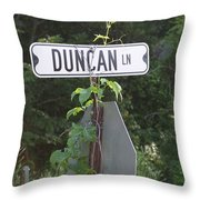 Duncan Ln Throw Pillow