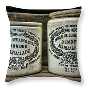 Dundee Marmalade Country Kitchen  Throw Pillow