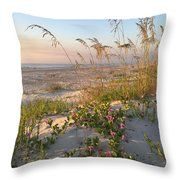 Dune Bliss Throw Pillow by LeeAnn Kendall