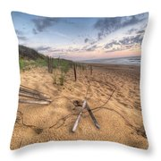 Dune Fencing Down Throw Pillow