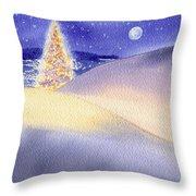 Dune Noel Throw Pillow