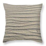 Dune Textures Throw Pillow