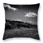 Dune Valley Throw Pillow