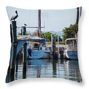 Duneden Fl. Throw Pillow