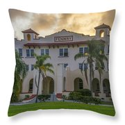 Dunedin Florida - The Fenway Throw Pillow