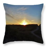 Dunes A Blaze 3 412 Throw Pillow