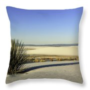 Dunes And Yucca One Throw Pillow