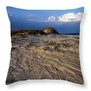 Dunes At St. Simons Island Throw Pillow
