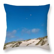 Dunes Of Danmark 1 Throw Pillow
