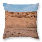 Dunes Of Sand Throw Pillow