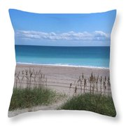 Dunes On The Outerbanks Throw Pillow