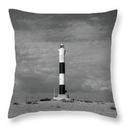 Dungeness Lighthosue Throw Pillow