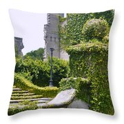 Dungeness Ruins Throw Pillow