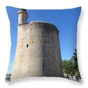 Dungeon In Aigues Morte Throw Pillow