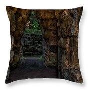 Dungeon Walls Throw Pillow