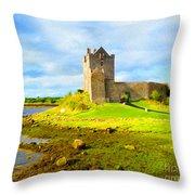 Dunguaire Castle Throw Pillow