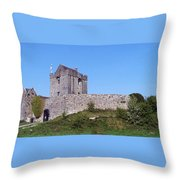 Dunguaire Castle Kinvara Ireland Throw Pillow