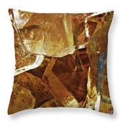 Dunkin Ice Coffee 6 Throw Pillow