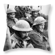 Dunkirk By John Springfield Throw Pillow
