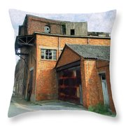 Dunkirk Foundry Throw Pillow