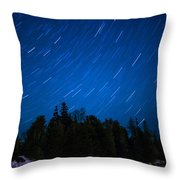 Dunks Point Star Trail Throw Pillow