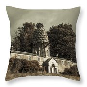 Dunmore Pineapple. Vintage  Throw Pillow