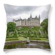 Dunrobin Castle 1325 Throw Pillow