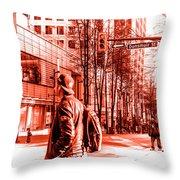 Dunsmir Day Throw Pillow