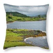 Dunvegan Castle Throw Pillow