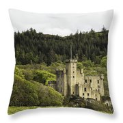 Dunvegan Castle Throw Pillow
