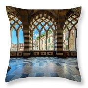 Duomo Di Amalfi Throw Pillow