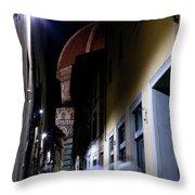 Duomo In The Dark Throw Pillow